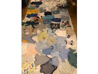 Baby boy GIANT clothes bundle. Newborn - 12 months