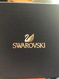 Swarovski crystal dust cuff