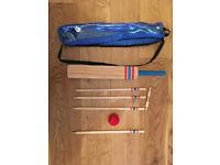 Child's Cricket set