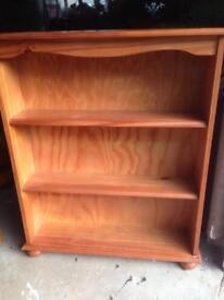 Book shelf shelves in pine
