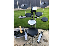 Roland HD-1 Drumkit with Throne, Sticks , Behringer Mixer, Sennheiser Headphones - £250 ONO