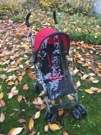 As good as New! Complete with raincover and winter cover! MamasandPapas - great quality!