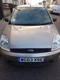 Excellent condition ford fiesta