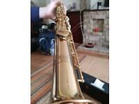 Elkhart 300 Series Straight Soprano Saxophone