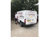 Light Water Man & Van – Fast – Professional – Insured – Domestic and Commercial – Waste - Clearance