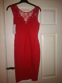 Size 8 Lipsy Dress in Red