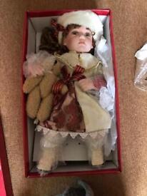 Porcelain doll!