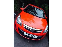 Vauxhall Corsa ecoflex in red 1 litre