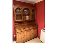 Ducal 'Victoria' furniture set- Welsh dresser and table