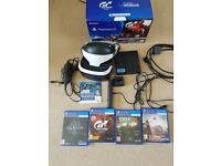 PlayStation VR set with 4 games (VR)