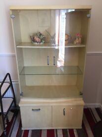 2 Display Cabinets