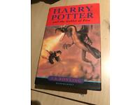 Harry potter and the goblet of fire FIRST EDITION (2000) SIGNED