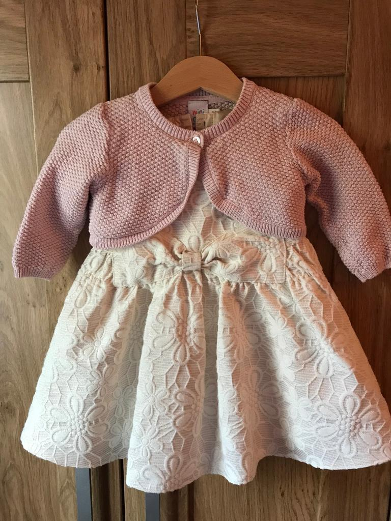 adb1ee35f Baby girl wedding party outfit 6-9 months