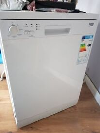 Beko dishwasher only a year old.