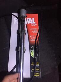 Fluval 150W Aquarium Fish Tank Heater with manual