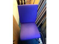 office home purple chair