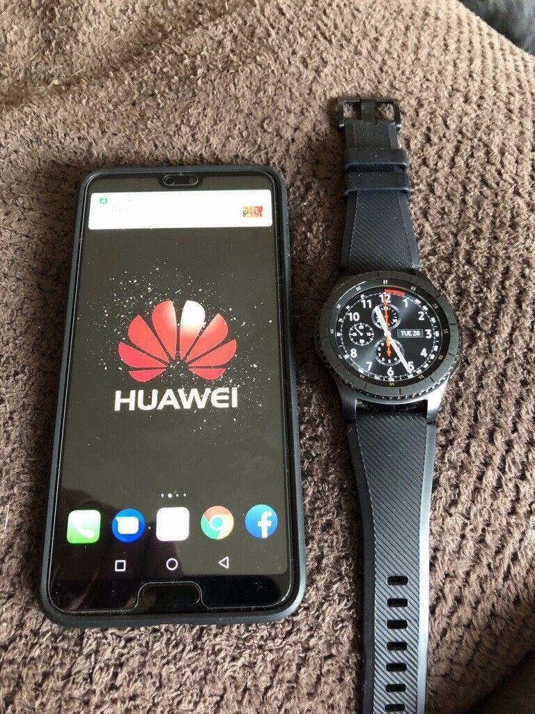 Huawei P20 Pro & Samsung Gear S3 Frontier Watch **Swap** | in Ramsey,  Cambridgeshire | Gumtree