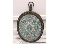 Heavy wall mounted vintage jewellery hook display