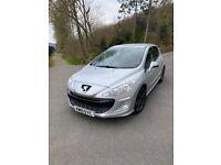 Peugeot, 308, Hatchback, 2010, Manual, 1560 (cc), 5 doors