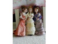 10 Beautiful Ceramic Dolls