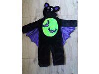 Boys 1-2 bat costume