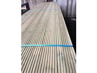 New timber decking boards 12 ft