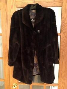 Ladies Sheared beaver fur coat