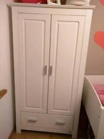 John Lewis furniture set , wardrobe and chest of drawers, white
