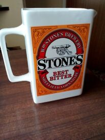Wade pottery stones best bitter jug