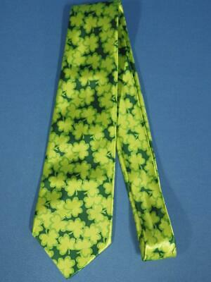 Vintage St Patricks Day Shamrock Clover Shades of Green Neck Tie - St Patricks Day Sunglasses
