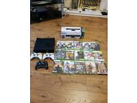 Xbox 360 with Kinect and 15 Games