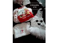 Lots of baby girl clothes