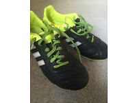 Addidas rugby boots with metal studs