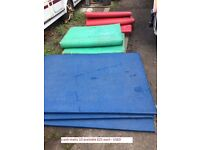 10 x Bouncy castle crash matts