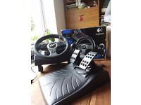 Logitech Driving Force Pro - ForceFeedbacl Aneel