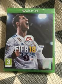 Fifa 18 xBox One game for sale - brand new still in packaging