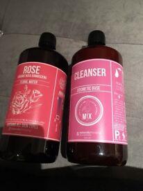 Natural rose Cleanser & toner