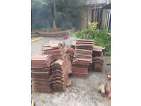 FREE Roof tiles (red, second hand)