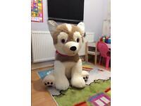 Free extra large soft play dog