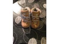 Boys timberland boots size 12