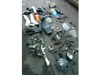 Job lot motorcycle parts, Honda, Suzuki, Royal Enfield, Chopper