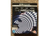 The Prestige 4K UHD Ultra HD Blu-ray