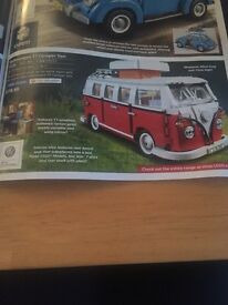 Brand new sealed in box Lego vw camper van creator