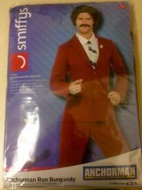 Anchorman - Ron Burgundy costume (M) unopened