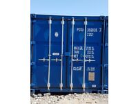 Self storage containers