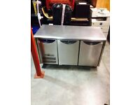 CATERING EQUIPMENT FRIDGE COUNTER BENCH TAKEAWAY FRIDGE FOR SHOP CAFE RESTAURANT TAKEAWAY CHILLER