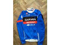 Garmin slipstream long sleeve cycling jersey