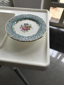 Bone China cake plate
