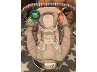 Baby music chair