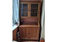 Ikea leksvik cabinet with glass doors